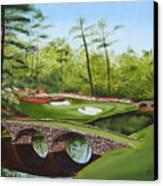 Augusta Golf Course Canvas Print by Kimber  Butler