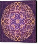 Aum Awakening Mandala Canvas Print