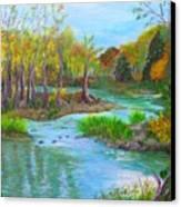 Ausable River Canvas Print