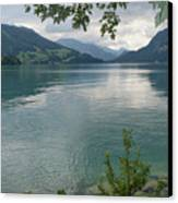 Austrian Lake Canvas Print