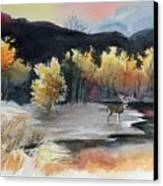 Autimn Buck Canvas Print