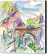 Autol In La Rioja Spain 02 Canvas Print by Miki De Goodaboom