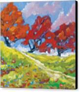 Automn Trees Canvas Print