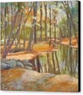 autumn at Kenoza Canvas Print