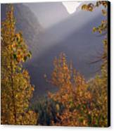 Autumn At Logan Pass Canvas Print
