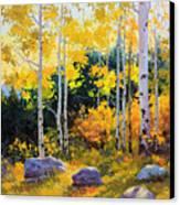 Autumn Beauty Of Sangre De Cristo Mountain Canvas Print by Gary Kim