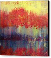 Autumn Bleed Canvas Print
