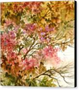 Autumn Colors And Twigs Canvas Print