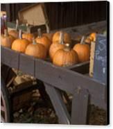 Autumn Farmstand Canvas Print by John Burk