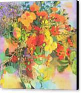 Autumn Flowers  Canvas Print by Claire Spencer