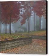 Autumn Fog Canvas Print