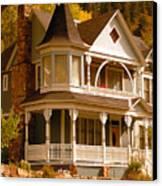 Autumn House Canvas Print