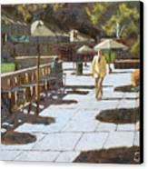 Autumn In Bryant Park Canvas Print