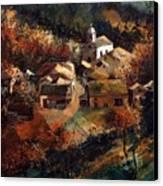Autumn In Frahan Canvas Print