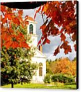 Autumn In Gilmanton Canvas Print by Robert Clifford