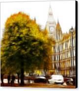 Autumn In London Canvas Print