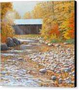 Autumn In New England Canvas Print by Jake Vandenbrink