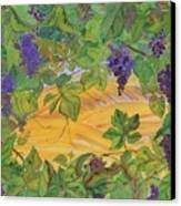 Autumn In Wine Country Canvas Print by Carolyn Doe