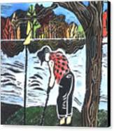 Autumn  Canvas Print by Jane Croteau