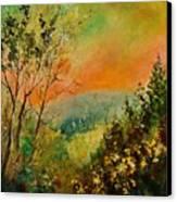 Autumn Landscape 5698 Canvas Print