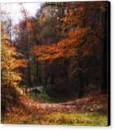 Autumn Landscape Canvas Print by Artecco Fine Art Photography
