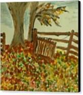 Autumn Canvas Print by Marie Bulger