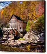Autumn Morning In West Virginia Canvas Print