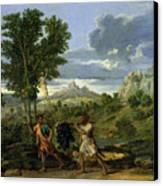 Autumn Canvas Print by Nicolas Poussin