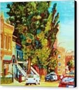 Autumn On Bagg Street Canvas Print