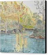 Autumn On The Ausable River Canvas Print