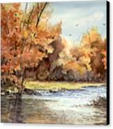 Autumn On The Buffalo Canvas Print