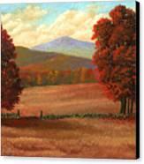 Autumn Pastures Canvas Print