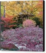 Autumn Purple Canvas Print