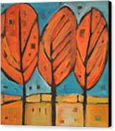 Autumn Quilt Canvas Print
