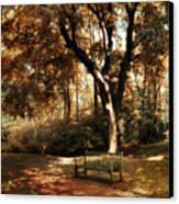 Autumn Repose Canvas Print by Jessica Jenney