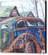 Autumn Retreat - Old Friend Vi Canvas Print