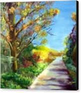 Autumn Roads Canvas Print
