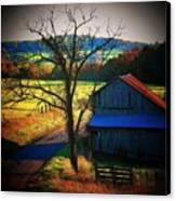 Autumn Romance Canvas Print by Joyce Kimble Smith