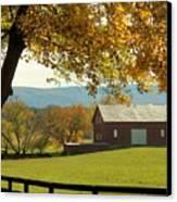 Autumn Shenandoah Barn Canvas Print