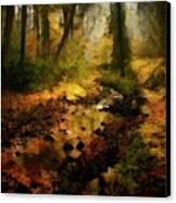 Autumn Sunrays Canvas Print by Gun Legler