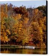 Autumn Trees Canvas Print by Sandy Keeton