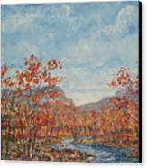 Autumn View. Canvas Print