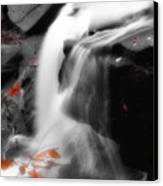 Autumn Waterfall Iv Canvas Print