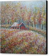 Autumn Whisper. Canvas Print