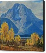 Autumn-willow Flats Canvas Print