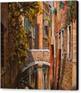 autunno a Venezia Canvas Print by Guido Borelli