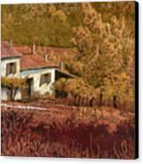 Autunno Rosso Canvas Print