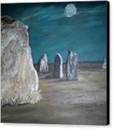Avebury Stone Circle Canvas Print by Tracey Mitchell