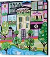 Avenue Of Parks Canvas Print