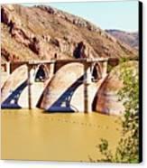 Az 2011 Apache Res - Coolidge Dam Canvas Print
